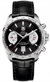 CAV511A.FC6225 Tag Heuer Grand Carrera Calibre 17 RS Cronografo Automatico 43 mm