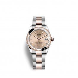 Rolex Datejust 31 Oystersteel Everose oro M278341RBR-0009