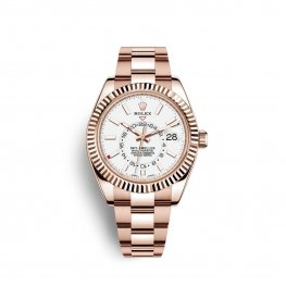 Rolex Sky-Dweller Everose gold M326935-0005