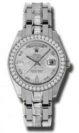 18956 BRIL Rolex Day-Date Special Edition Platinum Masterpiece