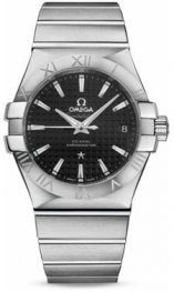 1231035.2001002 Omega Constellation Co-Axial 35 mm acero inoxidable cepillado