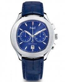Piaget Polo S Chronograph Automatic Blue Dial Hombre G0A43002