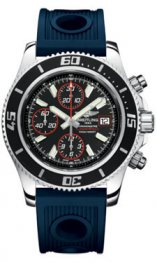 A13341A8/pulido BA81 Breitling Superocean Cronografo II Abyss Red