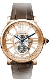 Cartier Rotonde de Cartier esqueleto Flying Tourbillon W1580046