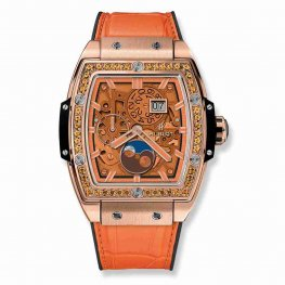 Hublot Spirit Of Big Bang Moonphase King Gold Orange 42mm 647.OX.5381.LR.1206