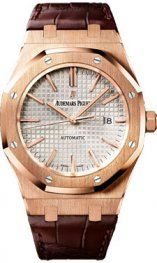 15400OR.OO.D088CR.01 Audemars Piguet Royal Oak Auto 41mm Winding oro rosa