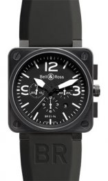 BR 01-94 Carbono Negro Bell & Ross BR 01-94 Cronografo Carbono