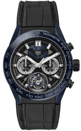 The TAG Heuer Carrera Tete de Vipere Cronografo Tourbillon Chronometer