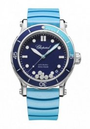 Chopard Happy Ocean Acero inoxidable & Diamantes Reloj de senoras 278587-3001