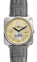 BR-S oro blanco Bell & Ross BR-S Mecanica Oro