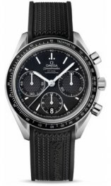 32632.405001001 Omega Speedmaster Racing Co-Axial Cronografo 40 mm de acero inoxidable En Goma