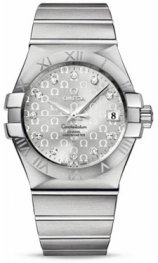 1231035.2052.002 Omega Constellation Co-Axial 35 mm acero inoxidable cepillado