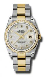 116243 mdo Rolex Datejust Oro 36 mm Oyster