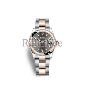 Rolex Datejust 31 Oystersteel Everose oro M278341RBR-0017