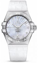 1231335.2055.001 Omega Constellation Co-Axial 35 mm acero inoxidable cepillado