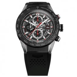 Tag Heuer Carrera Calibre Heuer 01 Skeleton Dial Automatic hombres CAR2A1Z.FT6044 reloj replicas