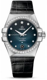 1231835.2056001 Omega Constellation Co-Axial 35 mm acero inoxidable cepillado