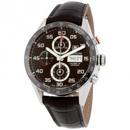 Replicas Tag Heuer Carrera Day Date Automatico Chronograph 43mm CV2A1S.FC6236