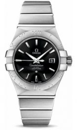 12310312001001 Omega Constellation Co-Axial 31 mm acero inoxidable cepillado