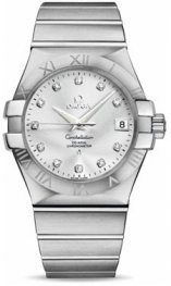 1231035.2052.001 Omega Constellation Co-Axial 35 mm acero inoxidable cepillado