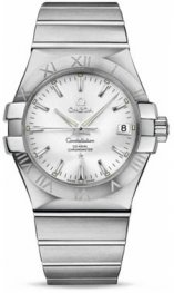 1231035.2002.001 Omega Constellation Co-Axial 35 mm acero inoxidable cepillado