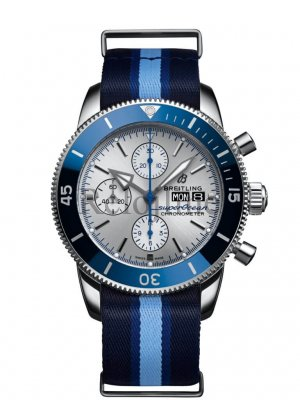 Breitling Superocean Heritage Limited Edition Chronograph Automatic Silver Dial para hombre