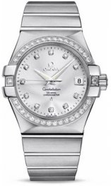 12315.35.2052.001 Omega Constellation Co-Axial 35 mm acero inoxidable cepillado