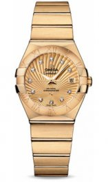 1235027.2058001 Omega Constellation Co-Axial 27 mm oro amarillo