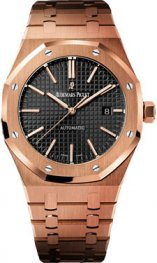 15400OR.OO.1220OR.01 Audemars Piguet Royal Oak Auto 41mm Winding oro rosa