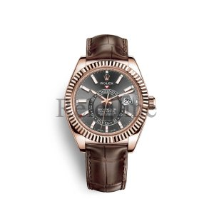 Rolex Sky-Dweller Everose gold M326135-0008