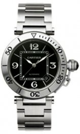 Cartier Pasha Seatimer 40.5 mm w31077m7