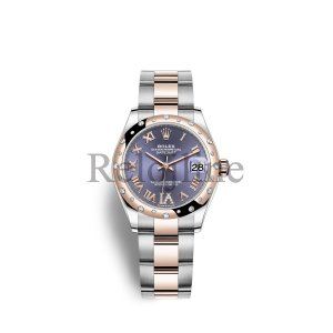 Rolex Datejust 31 Oystersteel Everose oro M278341RBR-0019