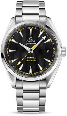 2311042.2101002 Omega Seamaster Aqua Terra 150 M Co-Axial 415 mm de acero inoxidable 15