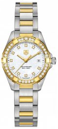 WAY1453.BD0922 Tag Heuer Aquaracer 300M Acero y oro amarillo27 MM