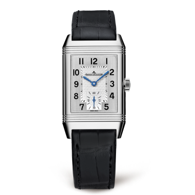 Jaeger LeCoultre Reverso Classic plata Dial Hombres Hand Wound Reloj 2458420