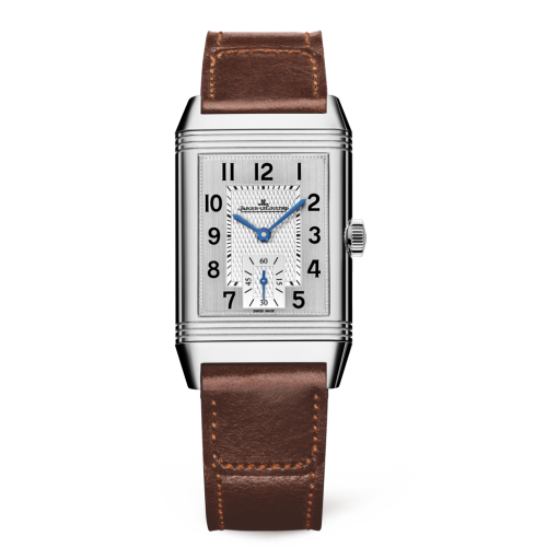 Jaeger-LeCoultre 2458422 Reverso Classic Medium Duoface Small Seconds Acero inoxidable/plata/Fagliano 2458422