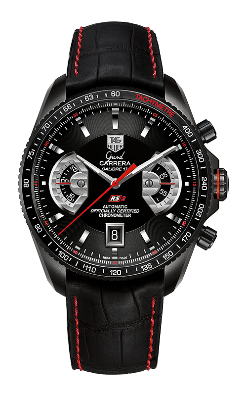 CAV518B.FC6237 Tag Heuer Grand Carrera Calibre 17 RS2 Cronografo Automatico 43 mm